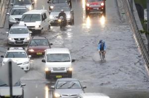 Flooding Sydney