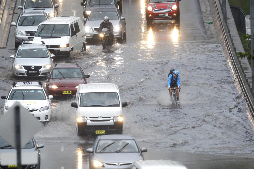 Sydney hit by hail, flash floods, storm declared a catastrophe